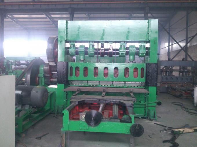Heavy Duty Automatic Expanded Metal Machine With 600mm Working Width