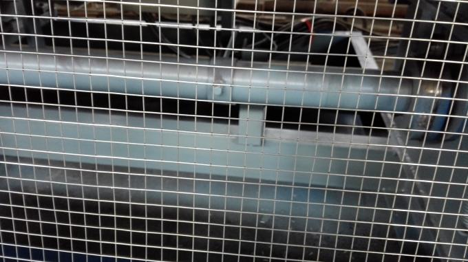 Automatic Steel Wire Mesh Welding Machine , Wire Cage Welding Machine For Chicken Cage