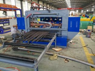 China High Precision Automatic Steel Grating Welding Machine With Touch Screen Control supplier