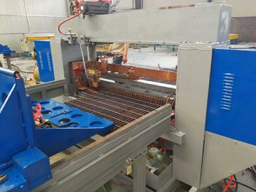 PLC Control Steel Grating Welding Machine / Production Line For Width 1200mm