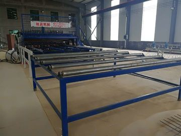 China Steel Bar / Reinforcing Concrete Welded Wire Mesh production Line supplier