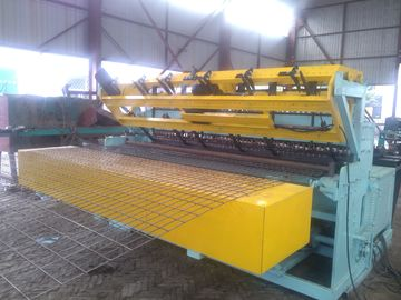 China Fully Automatic Wire Mesh Welding Machine Color Customized With PLC Control supplier