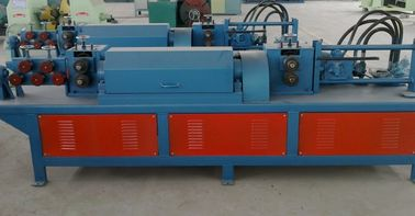 China Fully Automatic Steel Bar Cutting Machine , Reinforced Rebar Straightening Cutting Machine supplier