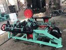 China Professional Single Strand Barbed Wire Machine For Electro Galvanized Wire factory