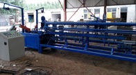 China High Productivity Chain Link Fence Making Machine / Diamond Wire Mesh Making Machine factory