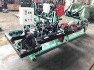 China Fully Automatic Barbed Wire Making Machine For 1.8mm - 2.2mm Barbed Wire Diameter factory