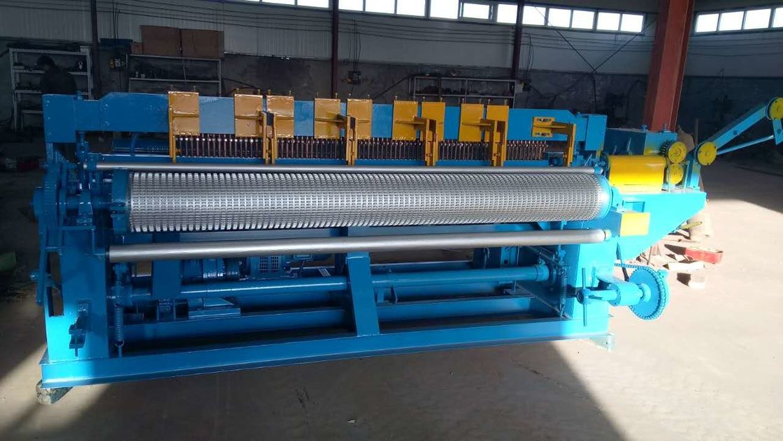 Easy Operate Stainless Steel Wire Mesh Machine 75 - 120 Times / Min ...