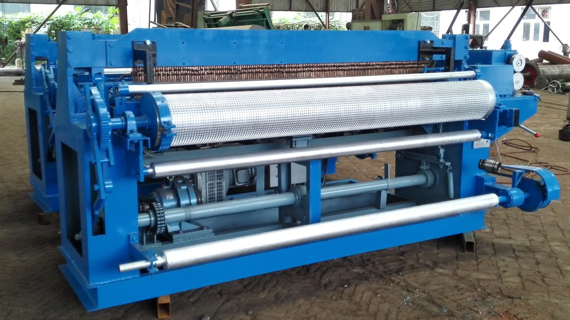 High Productivity Welded Wire Mesh Machine / Production Line For ...