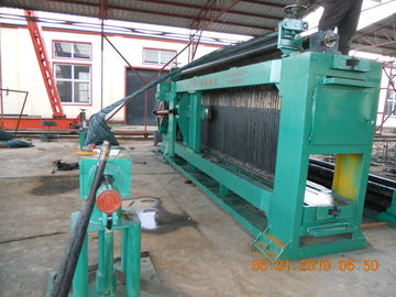 China Professional Automatic Gabion Mesh Machine PLC control For Mesh Size 80 * 100mm distributor
