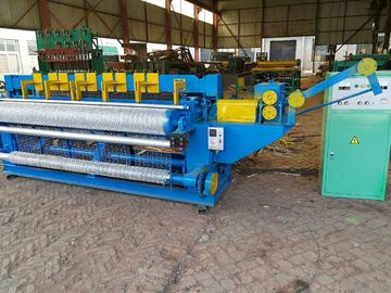 China Fully Automatic Electric Welded Wire Mesh Machine For Mining / Transportation distributor