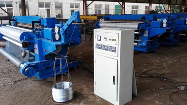 China Professional Wire Mesh Roll Welding Machine For 0.5 - 2.7mm Wire Diameter distributor