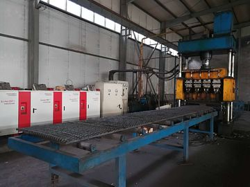 China High Speed Steel Grating Welding Machine / Steel Grating Production Line distributor