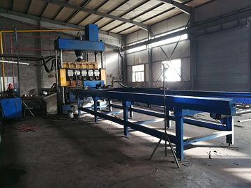 China Steel Plate Welding Machine , Fully Automatic Steel Grating Machine For Ribbed Edge distributor