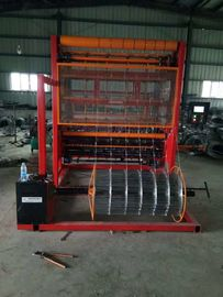 China Automatic Farm Fencing Equipment / Cattle Fencing Wire Making Machine For 96 Inch Fence distributor