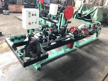 China Fully Automatic Barbed Wire Making Machine For 1.8mm - 2.2mm Barbed Wire Diameter distributor