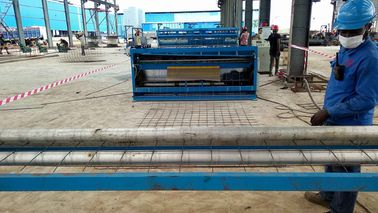 China Large Roll Mesh Welding Machine For Iron Wire , Mesh Size 100x100mm distributor