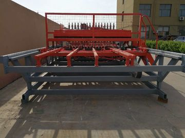 China Concrete Reinforcing Steel Mesh Welding Machine , Mesh Width 2500mm distributor