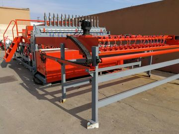 China CNC Rebar Steel Reinforced Mesh Welding Machine For Wire diameter 5 - 12mm distributor