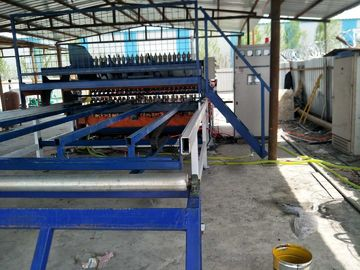 China Deformed Rebar Reinforced Mesh Welding Machine , Mesh Width 2500mm distributor
