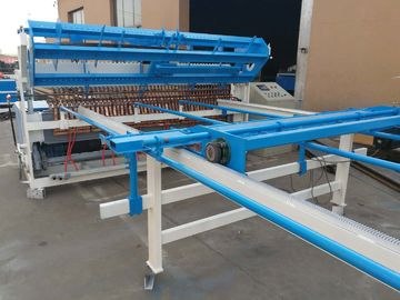 China Fully Automatic Welded Wire Mesh Machine , Panel Size 1800mm x 3000mm distributor